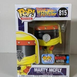 marty mcfly hazard suit funko pop!