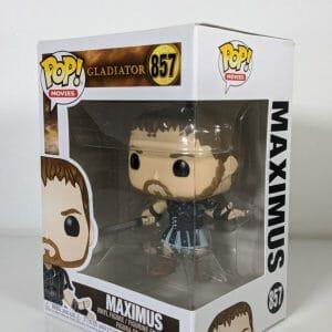 gladiator maximus holding sword funko pop!