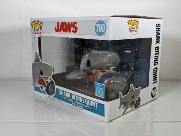 shark biting quint jaws funko pop!
