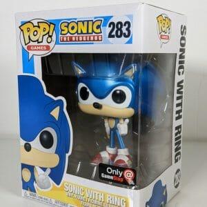 sonic the hedgehog metallic funko pop!