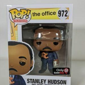 stanley hudson with pretzel funko pop!