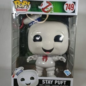 stay puft ghostbusters funko pop!