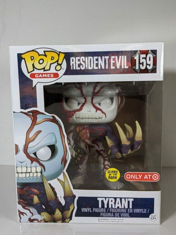 tyrant resident evil funko pop!