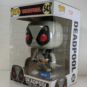 walmart exclusive deadpool grey funko pop!