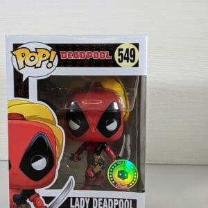 lady deadpool funko pop!
