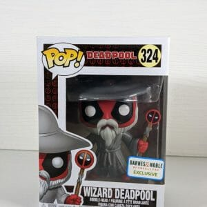 wizard deadpool funko pop!