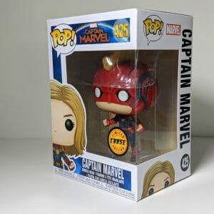 chase captain marvel funko pop!