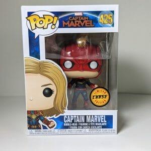 captain marvel chase funko pop!
