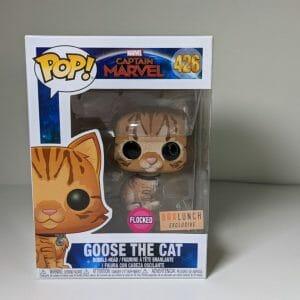 goose the cat flocked funko pop!