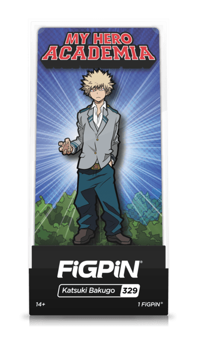 my hero academia katsuki bakugo figpin