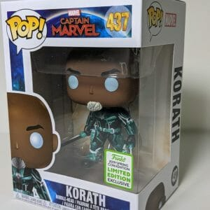 captain marvel korath funko pop!