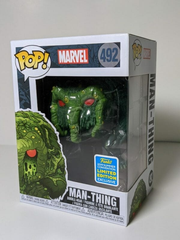 marvel man-thing funko pop!