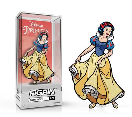 snow white figpin