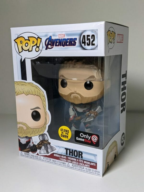avengers thor gitd funko pop!