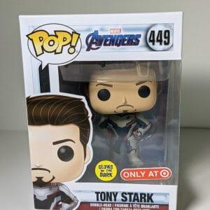 tony stark funko Pop! gitd