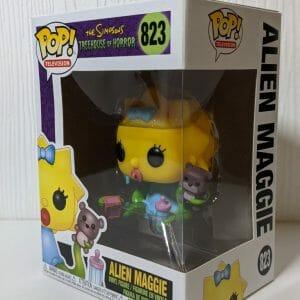 the simpsons alien maggie funko pop!
