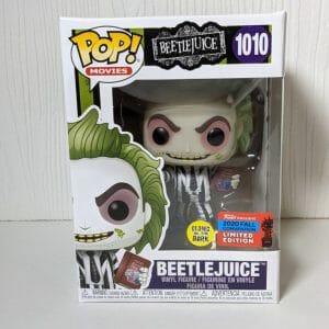 beetlejuice handbook gitd funko pop!