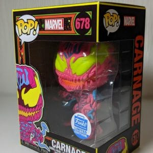 marvel carnage black light funko pop!