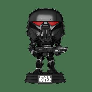 the mandalorian dark trooper funko pop!