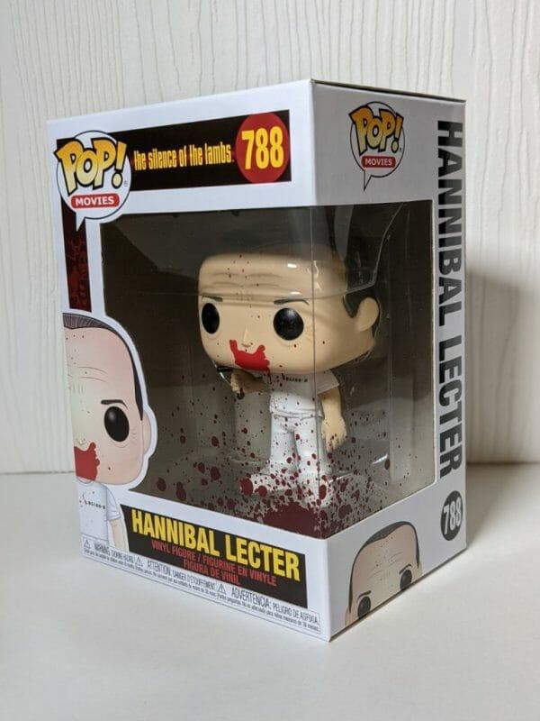 bloody hannibal lecter funko pop!