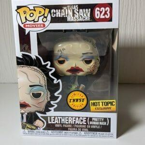 leatherface chase funko pop!