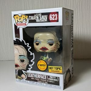 leatherface bloody face chase funko pop!