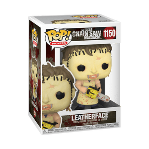leatherface funko pop!