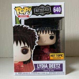 lydia deetz red dress funko pop!