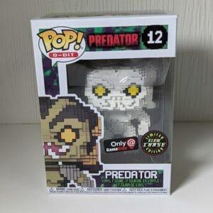 predator 8-bit chase funko pop!