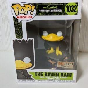 the raven bart funko pop!