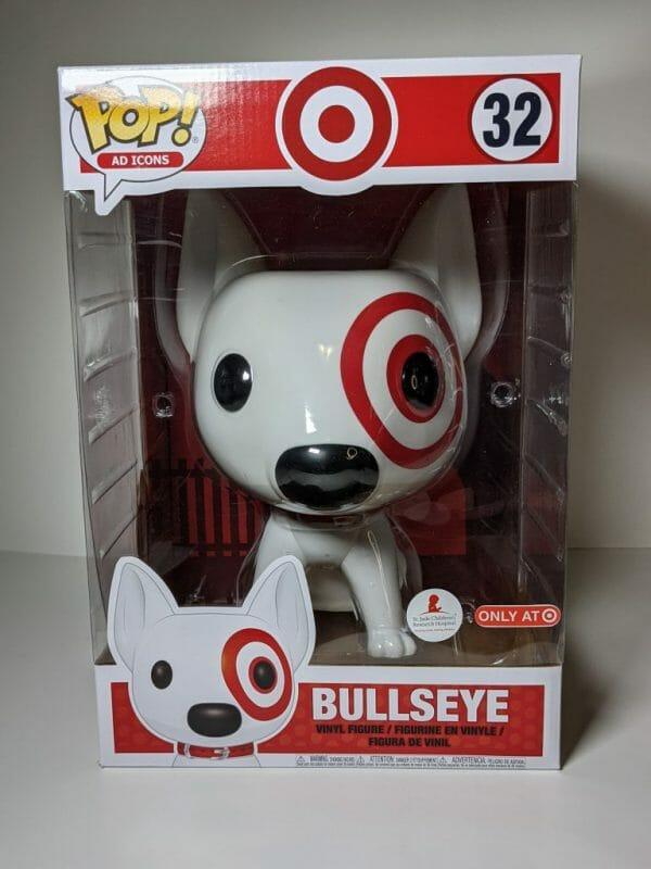bullseye 10 inch funko pop!