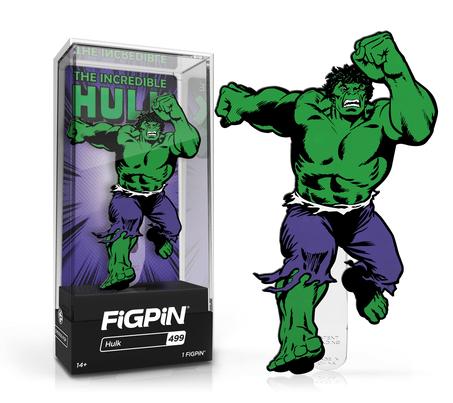 the incredible hulk figpin