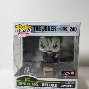 joker hush deluxe funko pop!