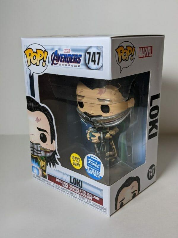 mystery box loki funko pop!