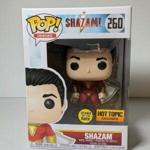 shazam glow in the dark funko pop!