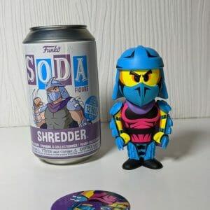shredder neon chase funko soda
