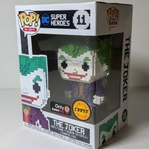 8-bit joker chase funko pop!