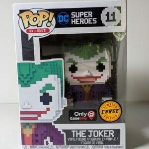 the joker 8-bit chase funko pop!