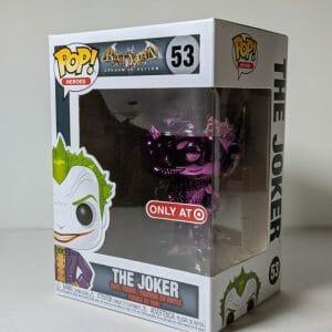 purple chrome joker funko pop!