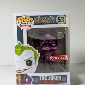 the joker purple chrome funko pop!