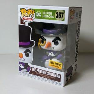 snowman penguin funko pop!