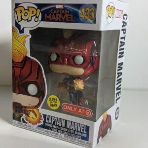 flying captain marvel funko pop!