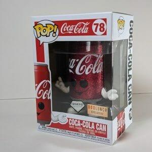 diamond coca-cola can funko pop!