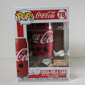 coca-cola can diamond funko pop!
