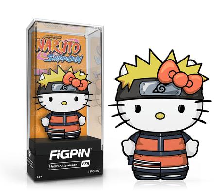 hello kitty naruto figpin