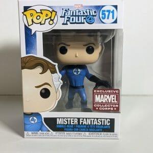 mister fantastic funko pop! Marvel Corps