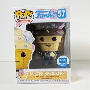 mister sprinkles chocolate funko pop!
