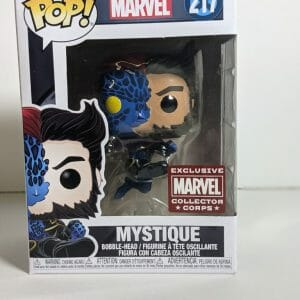 mystique logan funko pop! marvel corps