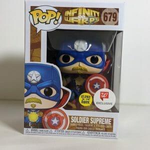 soldier supreme funko pop!