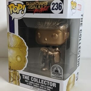gold the collector funko pop!